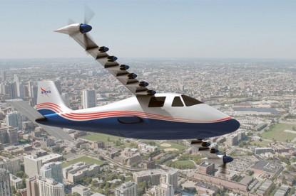 Elektromos repülővel forradalmasítaná a közlekedést a NASA