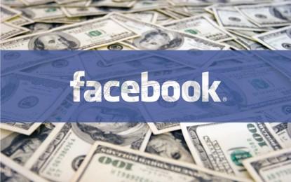 Még sosem dőlt így a pénz a Facebooknál