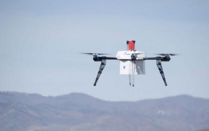 Nézd meg a világ első drónos házhozszállítását!