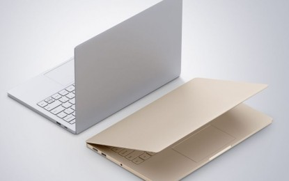 A Xiaomi laptopja egyenesen a Macbook ellen száll harcba