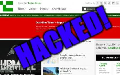 Egyre több a hackertámadás, most a TechCrunch volt a cél