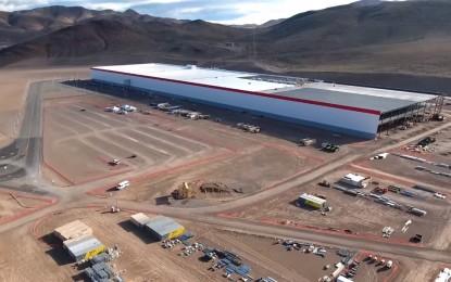 Megnyílt a Tesla gigagyára