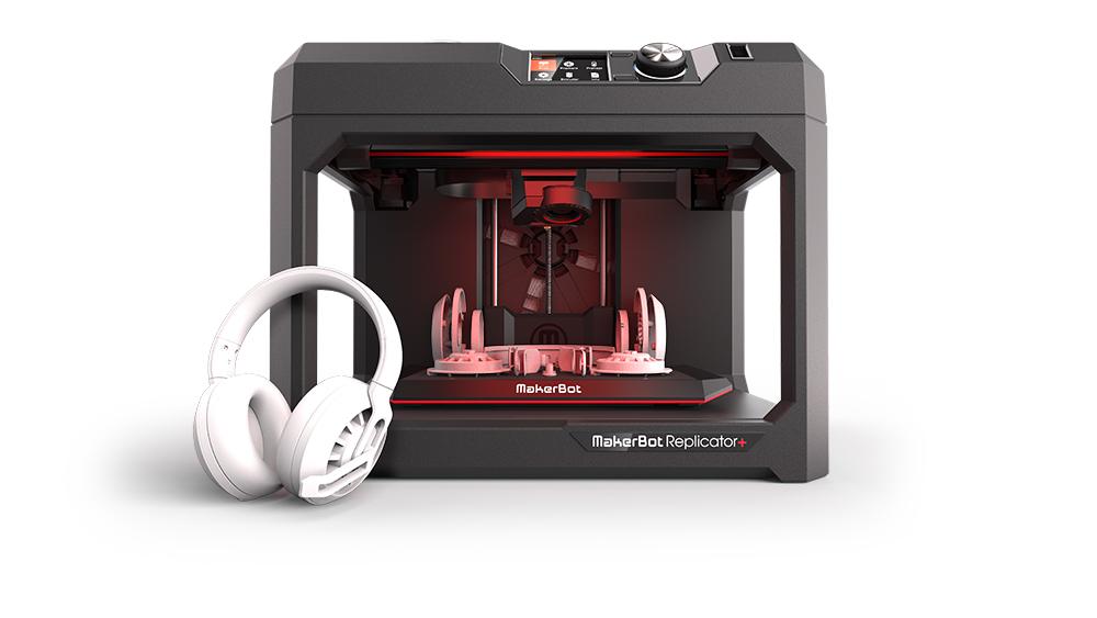 Replicator  plusz with Assembled Headphone Print