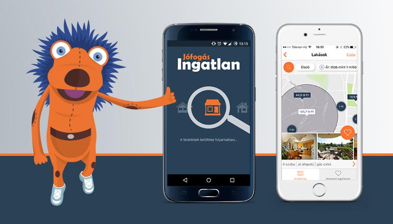 Az egyetlen magyar ingatlan app