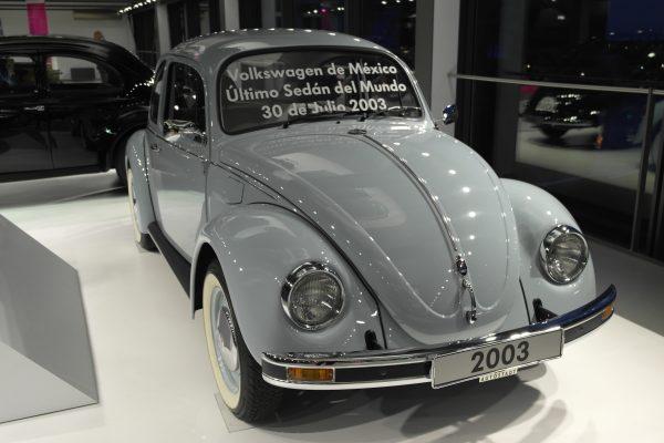 Az utolsó, a Volkswagen mexikói gyárában készült eredeti Bogár.