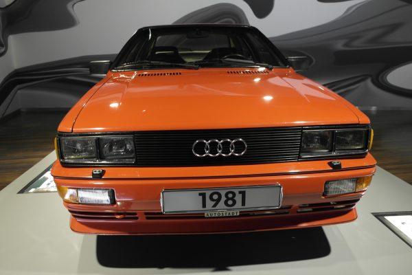 Az Audi négykerék-meghajtásának hírnevét az 1981-ben bemutatkozott Quattro alapozta meg.