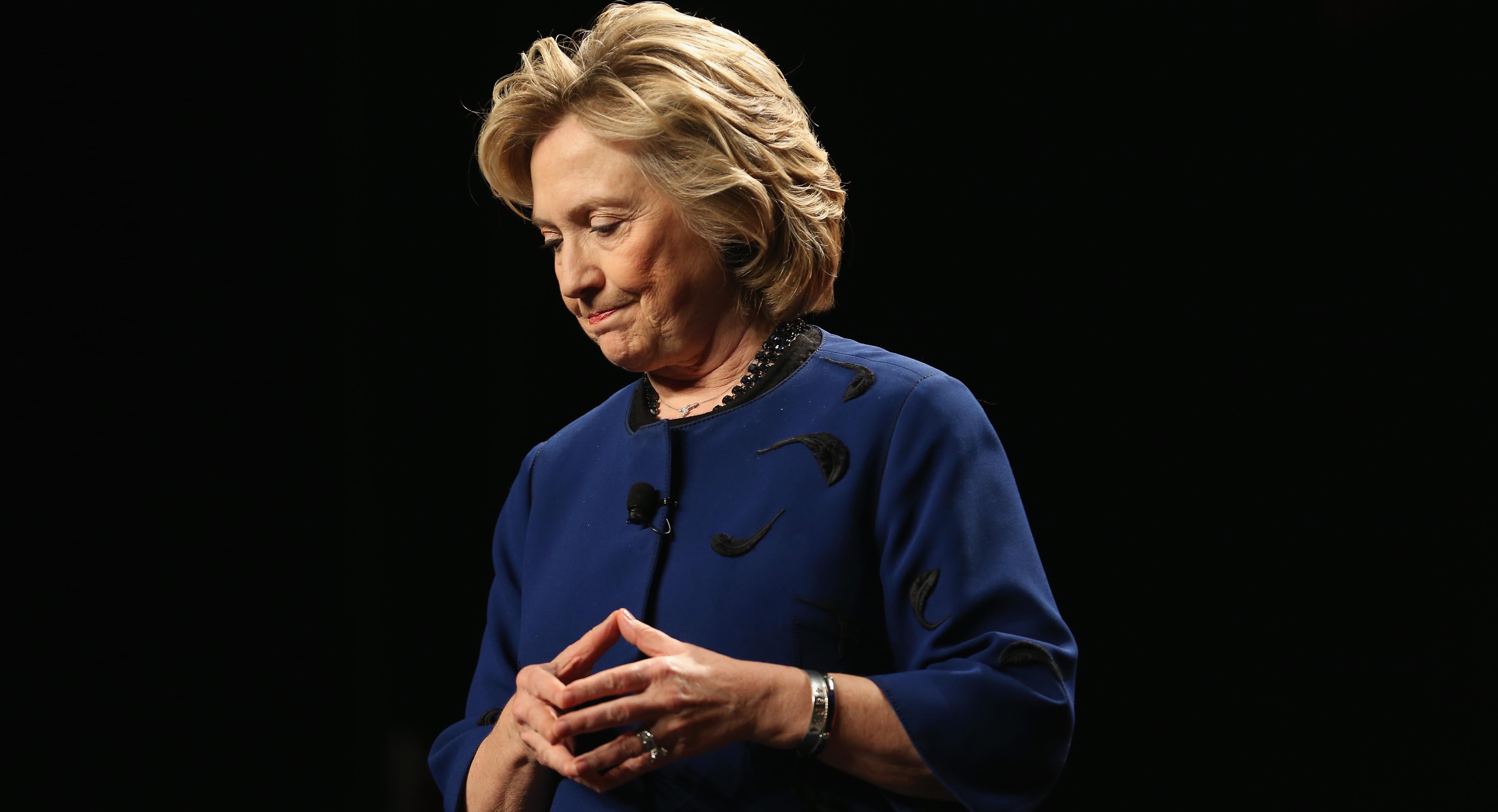 Hillary Clinton Speaks At The University Of Miami