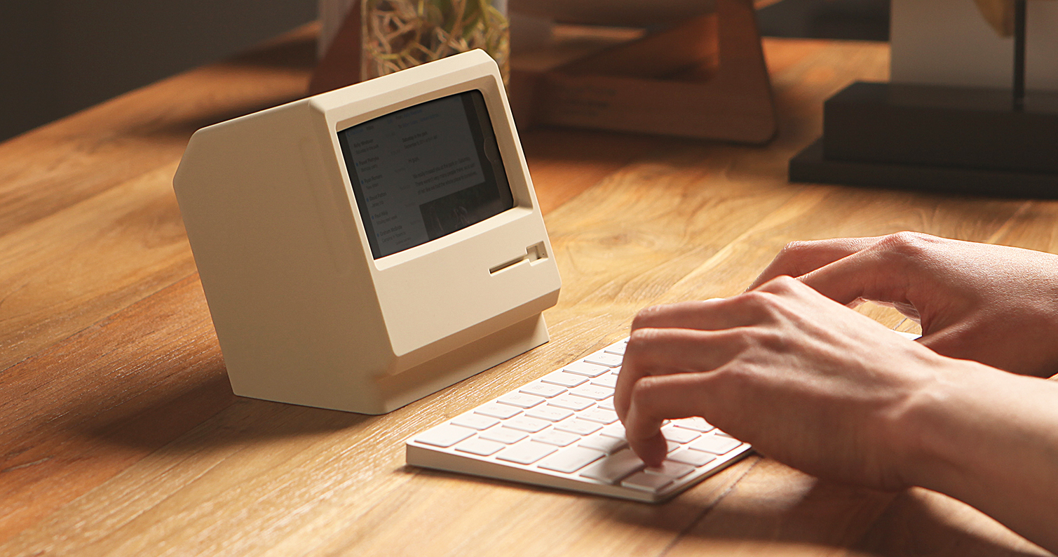 elago-m4-iphone-stand-vintage-macintosh-computer-designboom-facebook