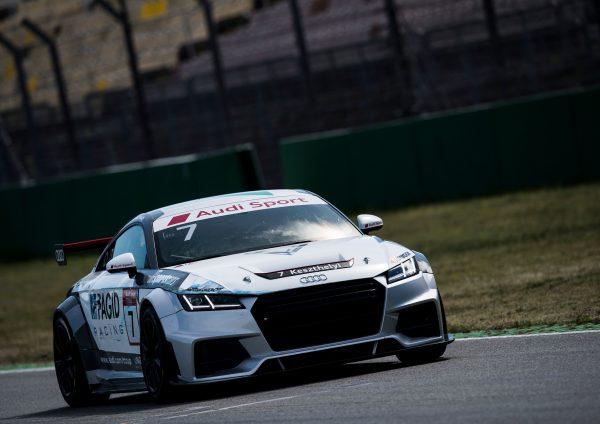 Audi TT cup #7 Vivien Keszthelyi