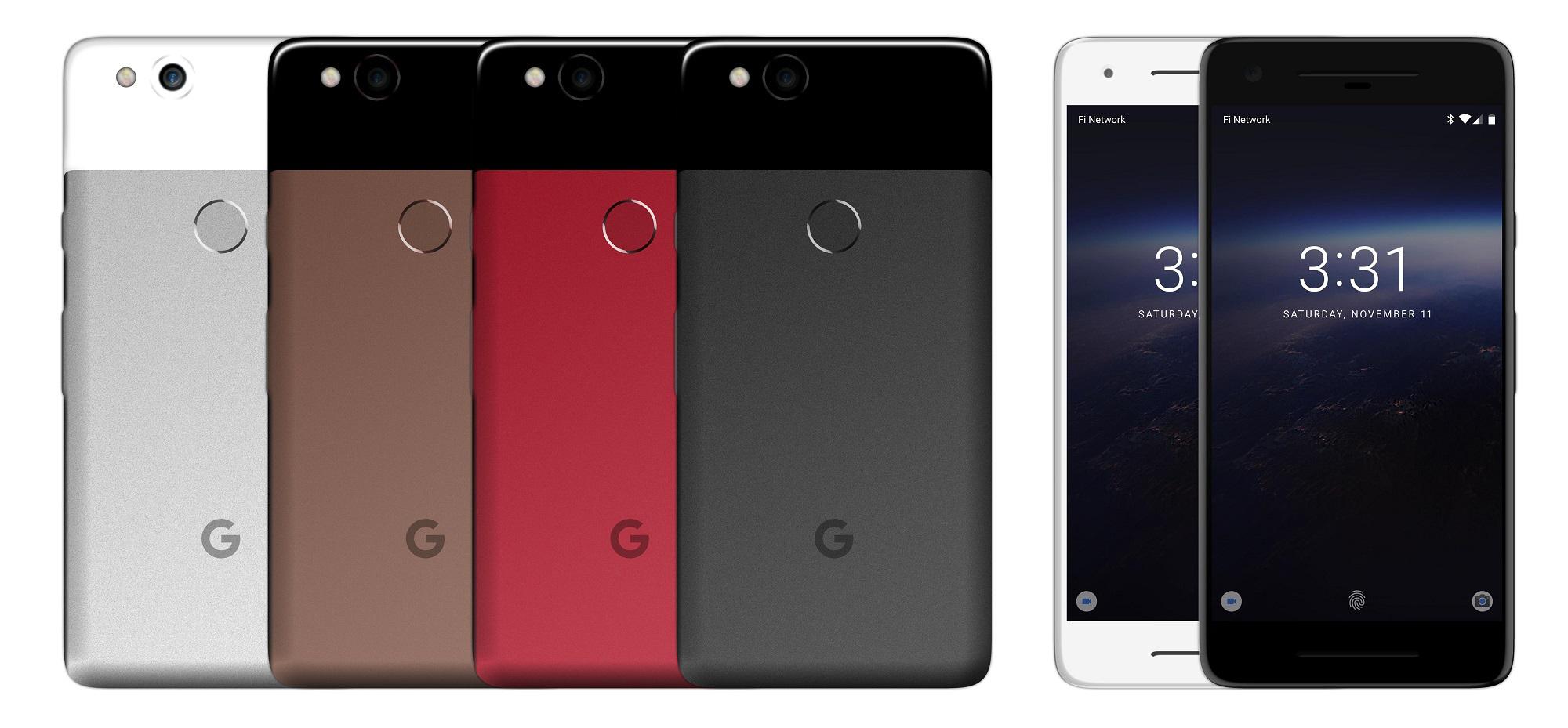 google-pixel-2-mockup-colors