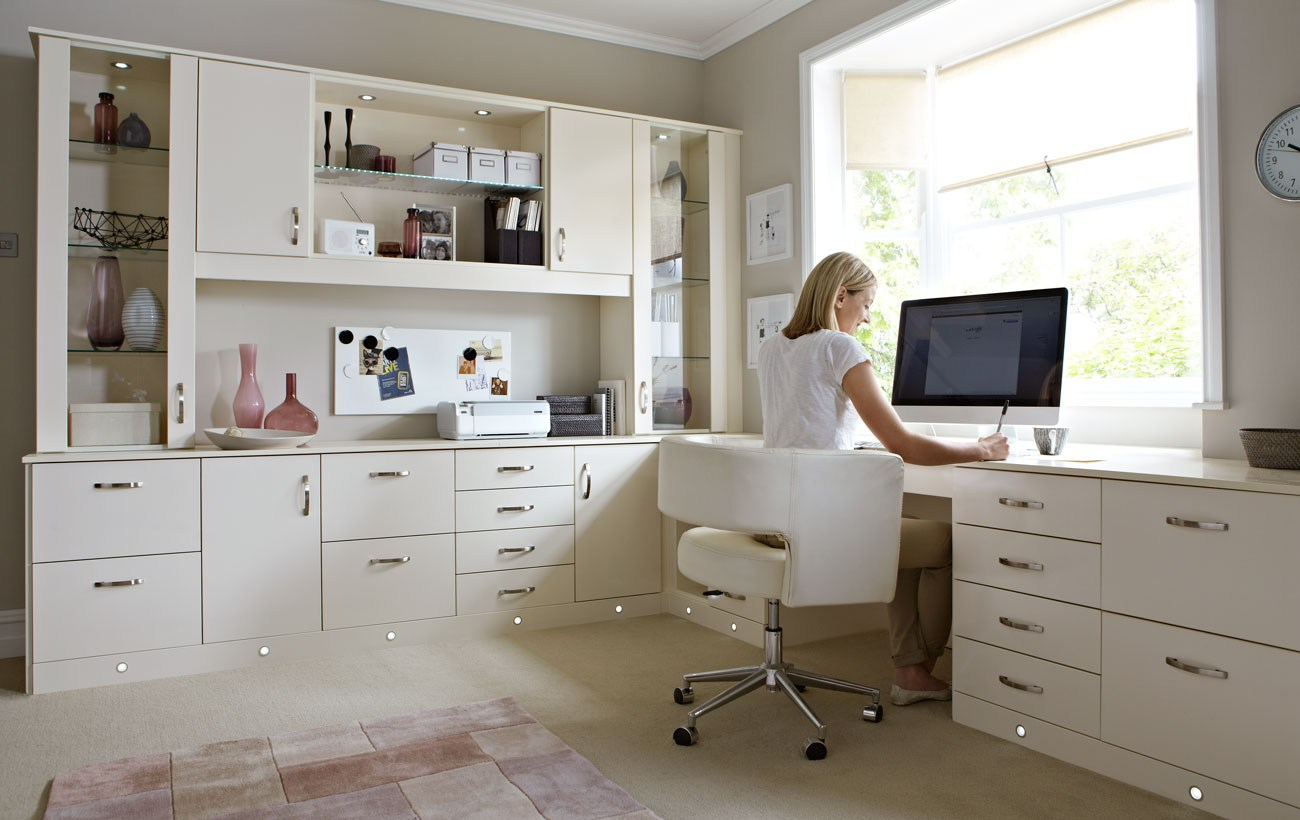 office at home. Custom-cabinets-houston-home-office-desks-modern Office At Home