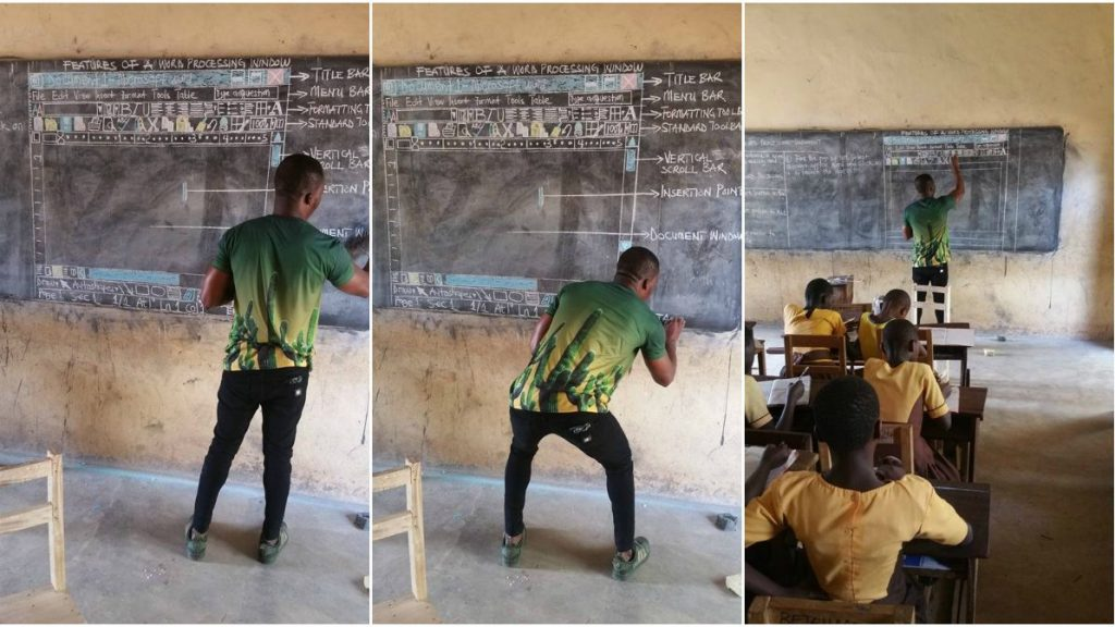 ghana-teacher-draws-microsoft-word