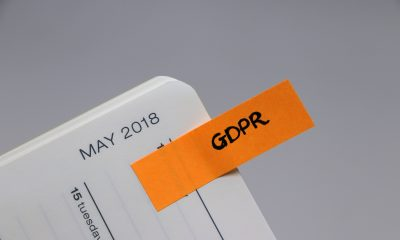 Diary reminder tab for General Data Protection Regulation which will come into effect on 25 May 2018