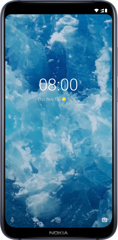 nokia-8-1_blue_silver_front
