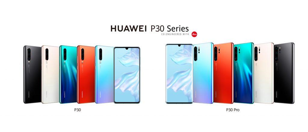 huawei-p30-series-family