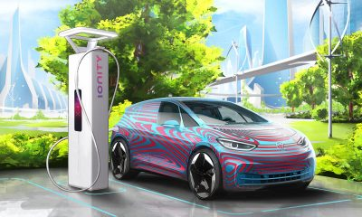 ID.3 and IONITY charging point