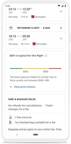 Google utazás