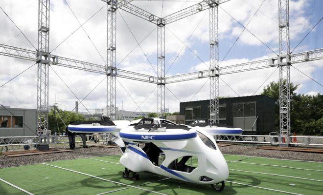 NEC repülő autó