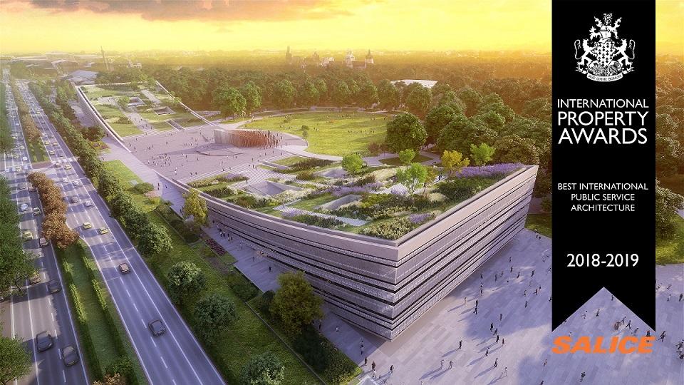 A Néprajzi Múzeum új épülete a világszerte az egyik legrangosabb ingatlanszakmai elismerést nyerte el (International Property Awards)