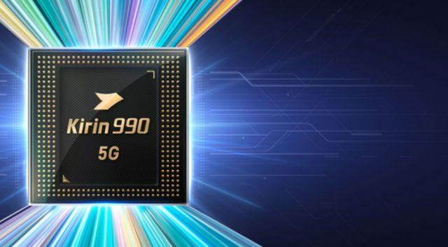 Kirin 990 5G chip Huawei