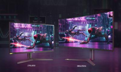 LG UltraGear Monitor (27GL850+38GL950G)