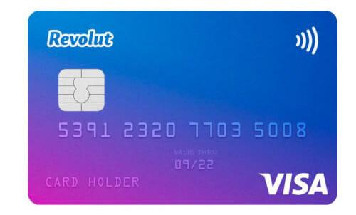 Revolut Visa bankkártya