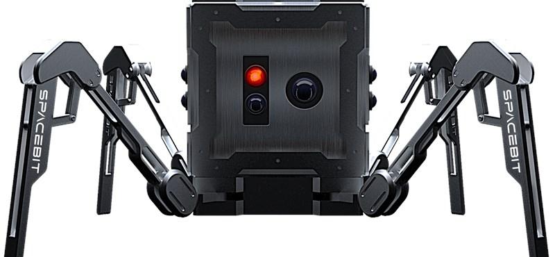 robotpók hold űrkutatás