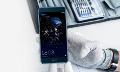 Huawei okostelefon kijelzőcsere