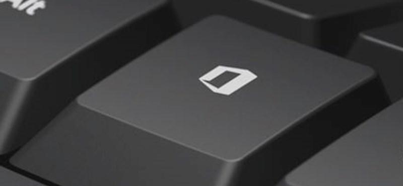 microsoft billentyűzet új gomb