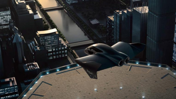porsche boeing repülő elektromos autó látványterv