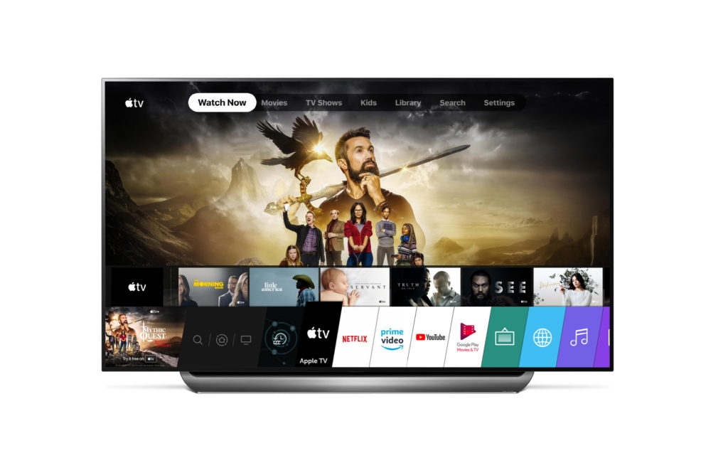 LG apple tv app