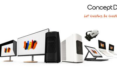 Acer ConceptD termékcsalád