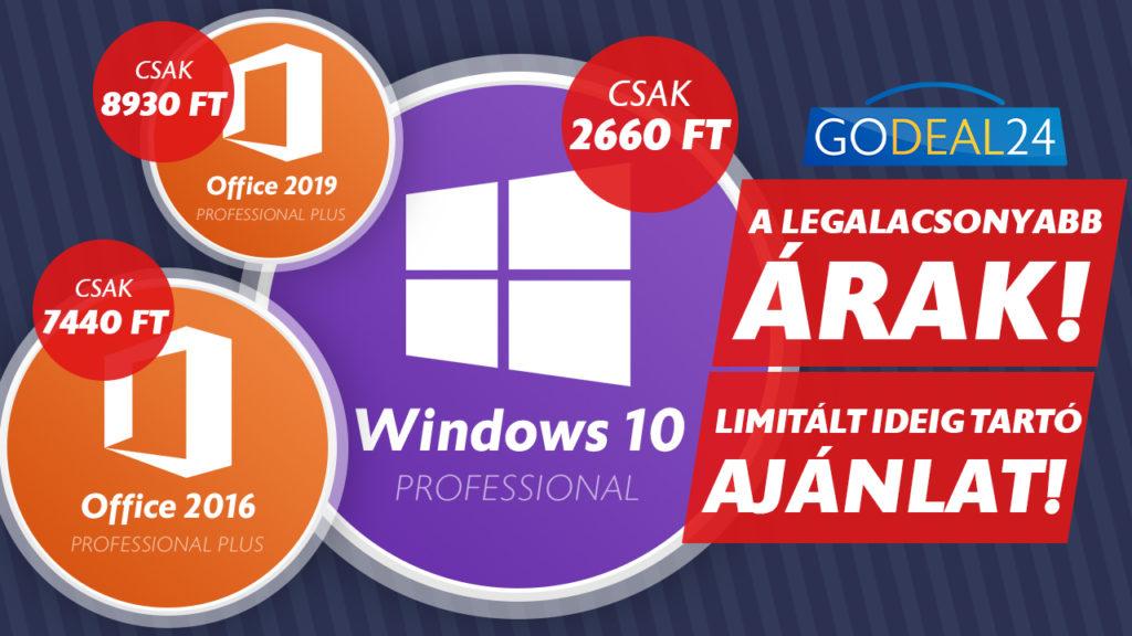olcsó windows 10