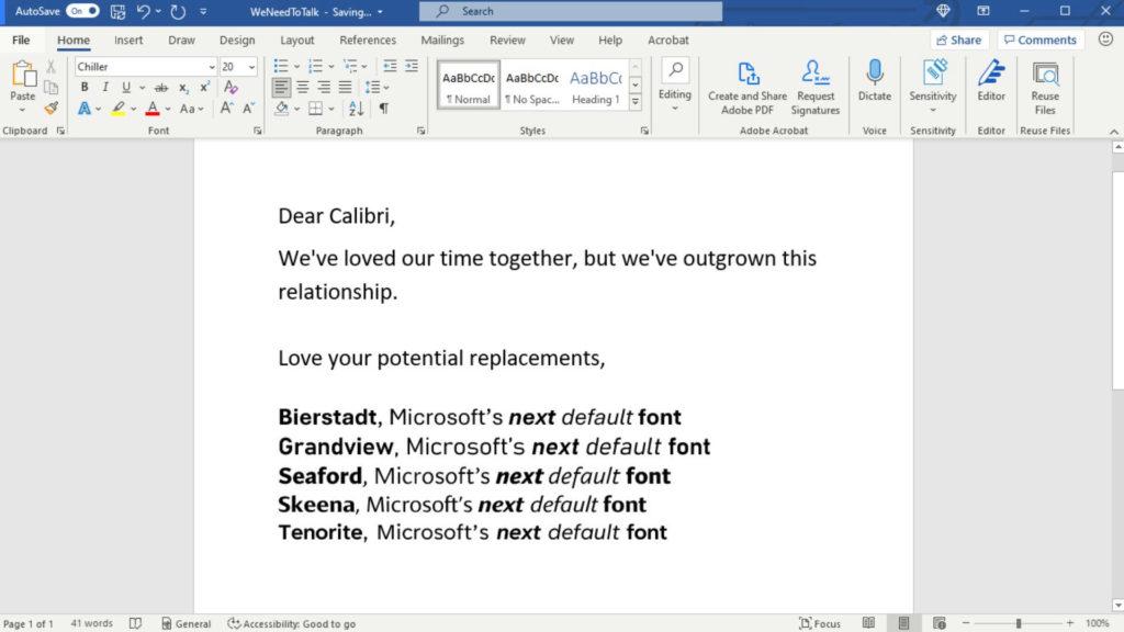 Alapértelmezett Microsoft betűtípus