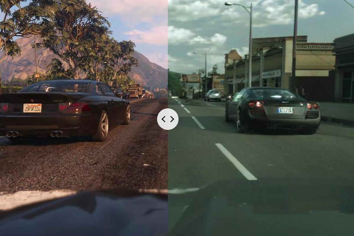 fotorealisztikus GTA képrészlet a játékból