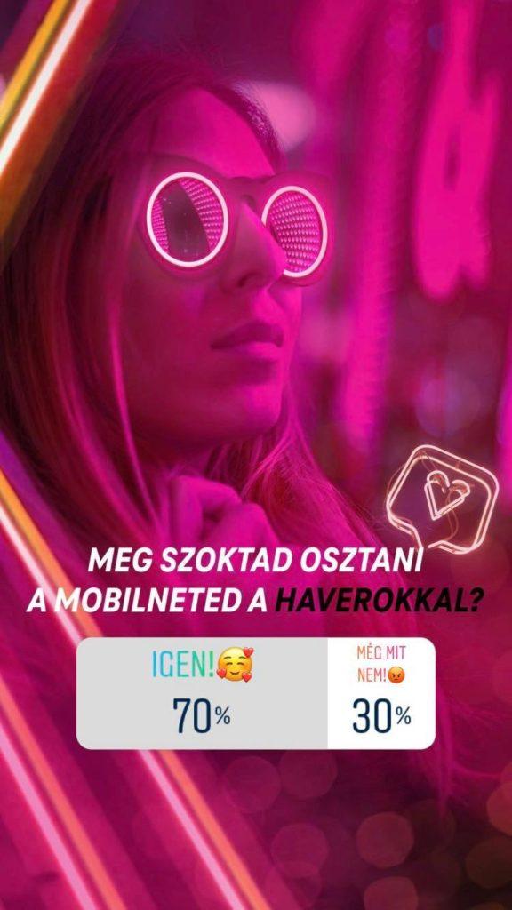 Telekom Instagram kutatás