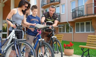 Hévíz Európa Fitt mozgás, kerékpározás
